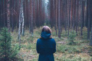 girl forest